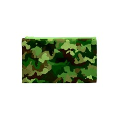 Camouflage Green Cosmetic Bag (xs)