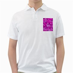 Camouflage Hot Pink Golf Shirts