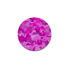 Camouflage Hot Pink Golf Ball Marker
