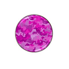 Camouflage Hot Pink Hat Clip Ball Marker