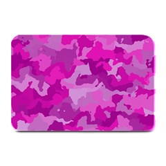 Camouflage Hot Pink Plate Mats