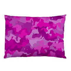 Camouflage Hot Pink Pillow Cases