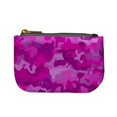 Camouflage Hot Pink Mini Coin Purses