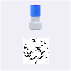 Camouflage Hot Pink Rubber Round Stamps (Small)