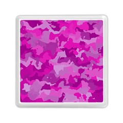 Camouflage Hot Pink Memory Card Reader (Square)