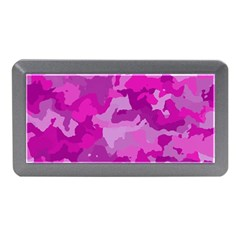 Camouflage Hot Pink Memory Card Reader (Mini)