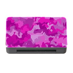 Camouflage Hot Pink Memory Card Reader With Cf