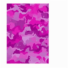 Camouflage Hot Pink Large Garden Flag (Two Sides)