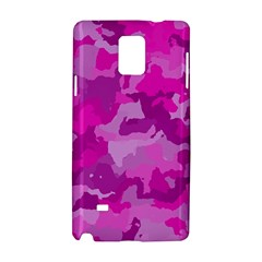 Camouflage Hot Pink Samsung Galaxy Note 4 Hardshell Case