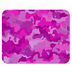 Camouflage Hot Pink Double Sided Flano Blanket (Medium)