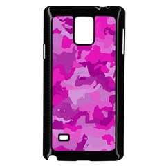 Camouflage Hot Pink Samsung Galaxy Note 4 Case (black)