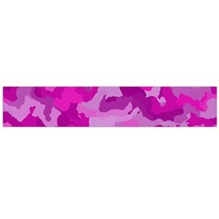 Camouflage Hot Pink Flano Scarf (large)