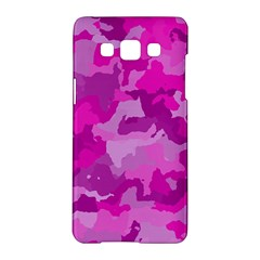 Camouflage Hot Pink Samsung Galaxy A5 Hardshell Case