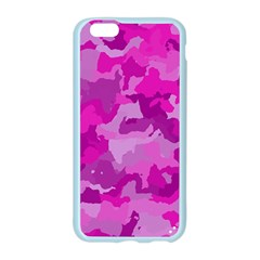 Camouflage Hot Pink Apple Seamless iPhone 6 Case (Color)