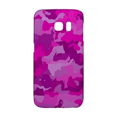 Camouflage Hot Pink Galaxy S6 Edge
