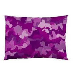 Camouflage Purple Pillow Cases