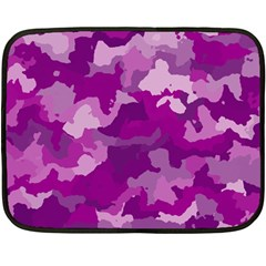 Camouflage Purple Fleece Blanket (Mini)