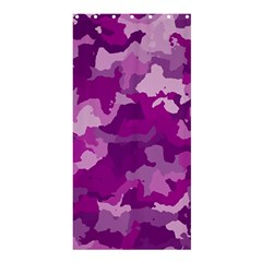 Camouflage Purple Shower Curtain 36  x 72  (Stall)