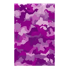 Camouflage Purple Shower Curtain 48  x 72  (Small)