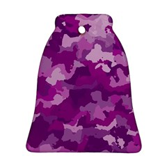 Camouflage Purple Ornament (Bell)