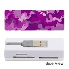 Camouflage Purple Memory Card Reader (Stick)