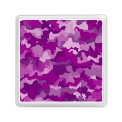 Camouflage Purple Memory Card Reader (Square)