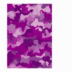 Camouflage Purple Small Garden Flag (two Sides)