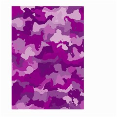 Camouflage Purple Large Garden Flag (Two Sides)