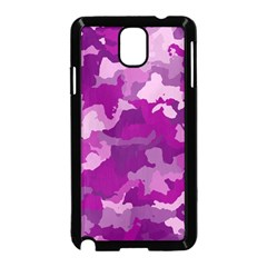 Camouflage Purple Samsung Galaxy Note 3 Neo Hardshell Case (black)