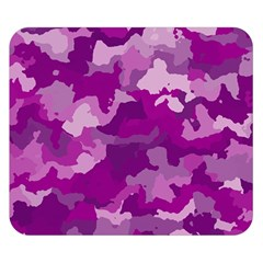 Camouflage Purple Double Sided Flano Blanket (Small)