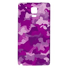 Camouflage Purple Galaxy Note 4 Back Case
