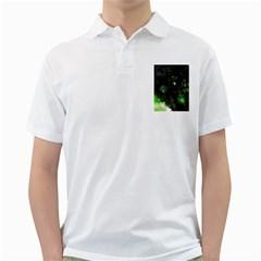 Space Like No.7 Golf Shirts