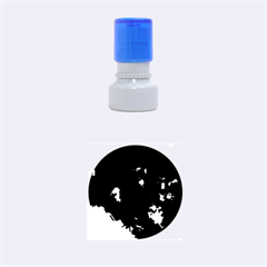 Space Like No 7 Rubber Round Stamps (small)