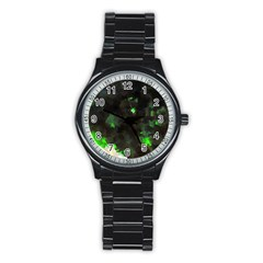 Space Like No 7 Stainless Steel Round Watches