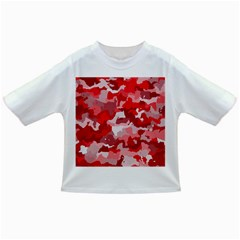 Camouflage Red Infant/toddler T Shirts