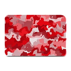 Camouflage Red Plate Mats