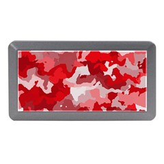 Camouflage Red Memory Card Reader (Mini)