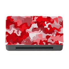 Camouflage Red Memory Card Reader With Cf