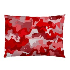 Camouflage Red Pillow Cases (two Sides)