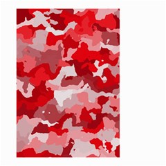 Camouflage Red Small Garden Flag (Two Sides)