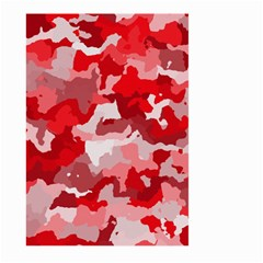 Camouflage Red Large Garden Flag (Two Sides)