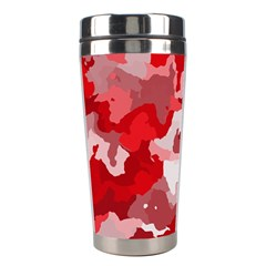 Camouflage Red Stainless Steel Travel Tumblers