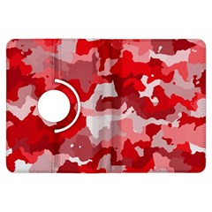 Camouflage Red Kindle Fire Hdx Flip 360 Case