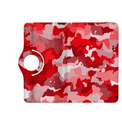Camouflage Red Kindle Fire Hdx 8 9  Flip 360 Case