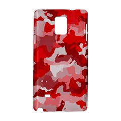 Camouflage Red Samsung Galaxy Note 4 Hardshell Case