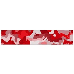 Camouflage Red Flano Scarf (small)