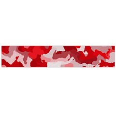 Camouflage Red Flano Scarf (large)
