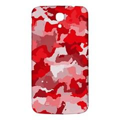 Camouflage Red Samsung Galaxy Mega I9200 Hardshell Back Case