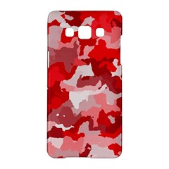 Camouflage Red Samsung Galaxy A5 Hardshell Case