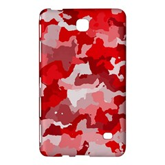 Camouflage Red Samsung Galaxy Tab 4 (7 ) Hardshell Case